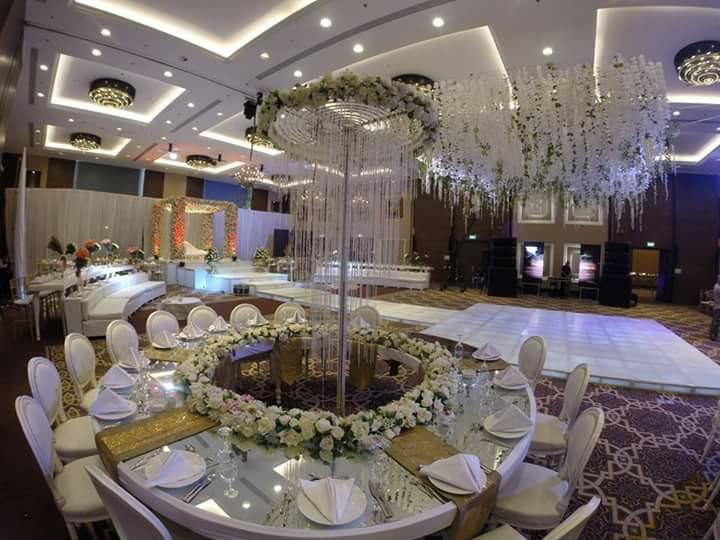 لمسات لتنظيم حفلات الزفاف