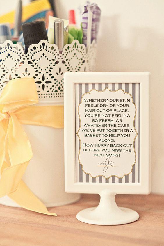 Wedding Bathroom Decoration 1