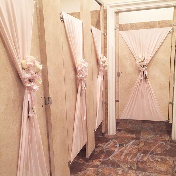 Wedding Bathroom Decoration 3