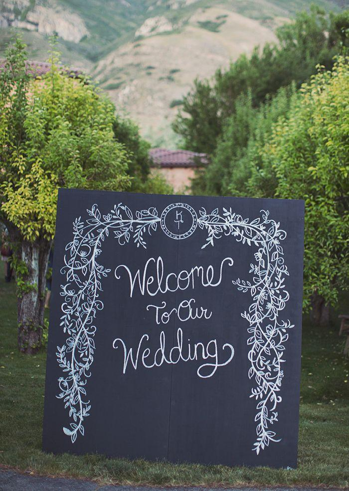 Wedding Chalkboards 1