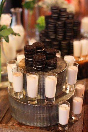 الكوكيز والحليب