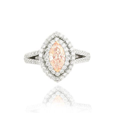 Double Halo Engagement Ring 2