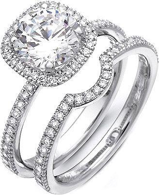Elaborately Shaped Engagement Rings