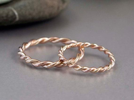 Spiral Engagement Rings