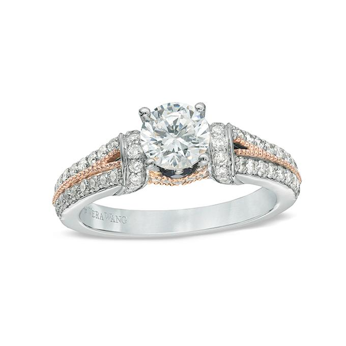 Mixed Metal Wedding Rings 1