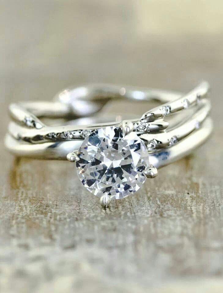 Nature Inspired Rings