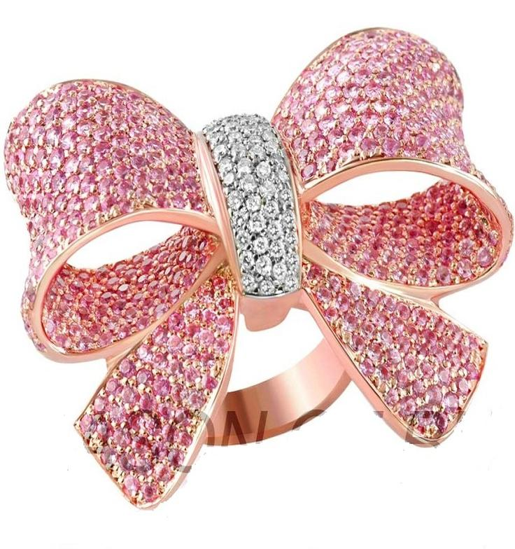 Bow Engagement Ring 2