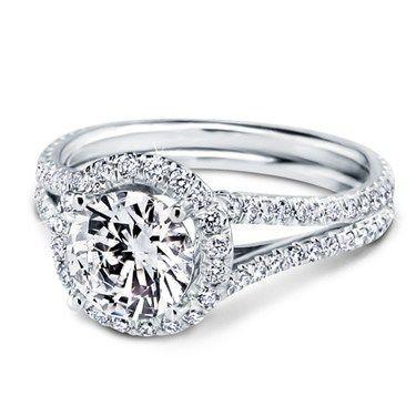 Split Shank Engagement Ring 1