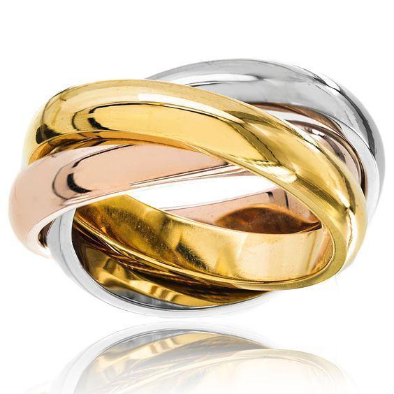 Trinity Wedding Rings 1