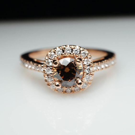 Brown Diamond Rings 3