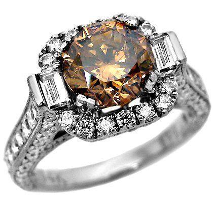 Brown Diamond Rings 4
