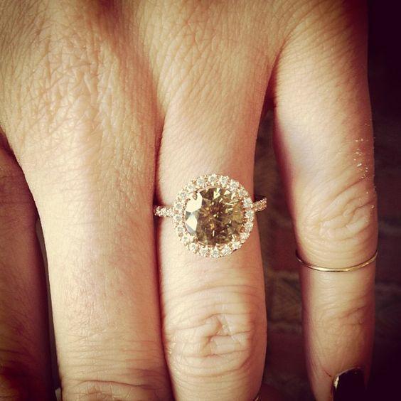 Brown Diamond Rings 2