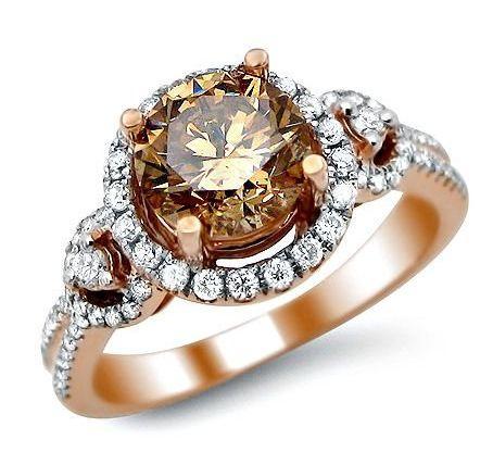 Brown Diamond Rings