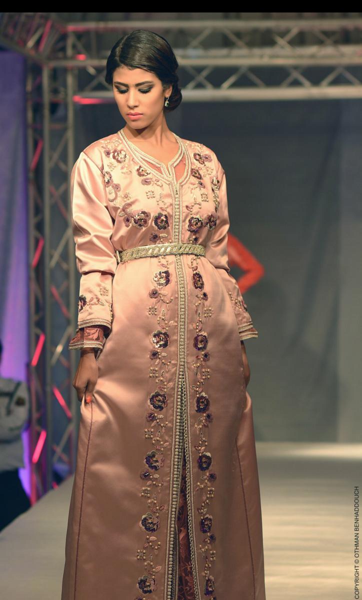 مصممة الأزياء المغربية سلمى العلمي