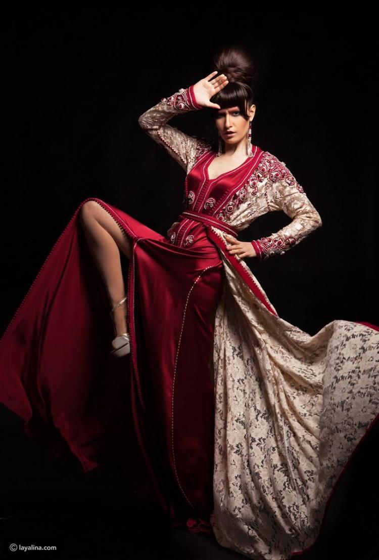 مصممة الأزياء المغربية حسناء بن عيسى