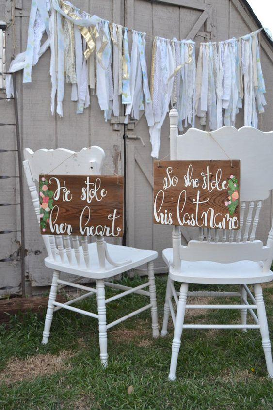 Chair Signs 3