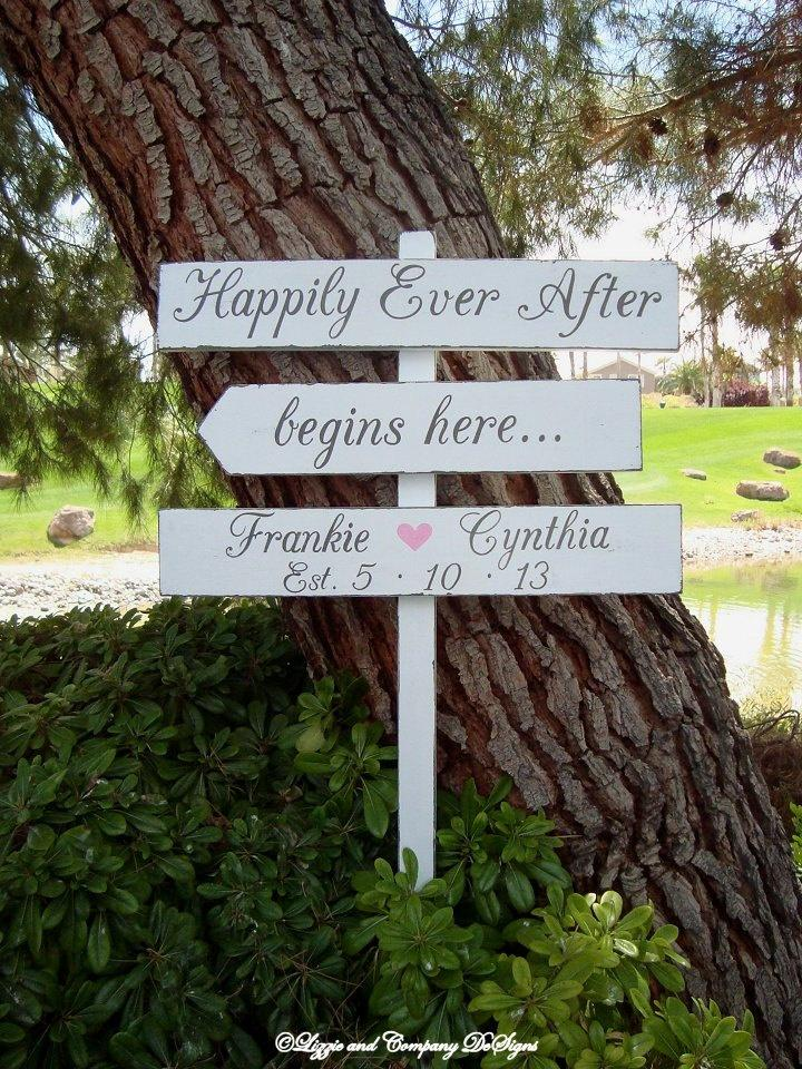 Wedding Signs 1