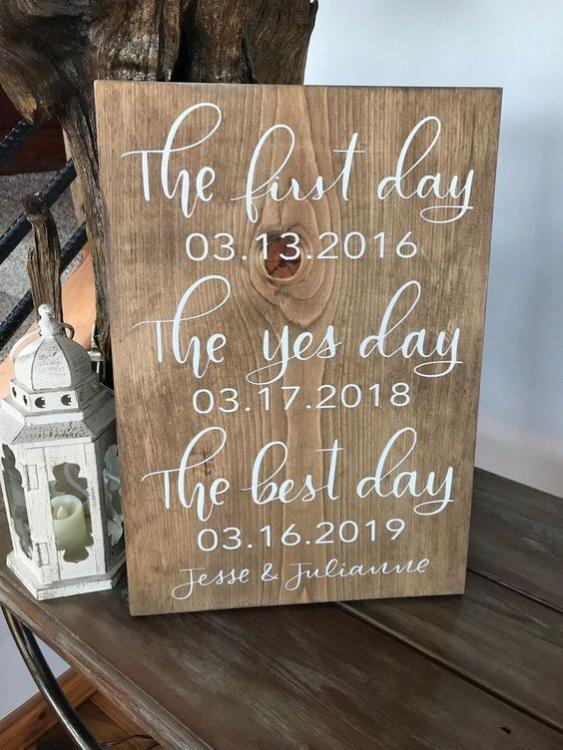 Romantic Wedding Signs 2