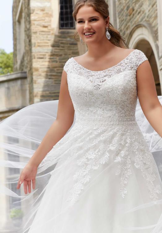 Full Figure Bride