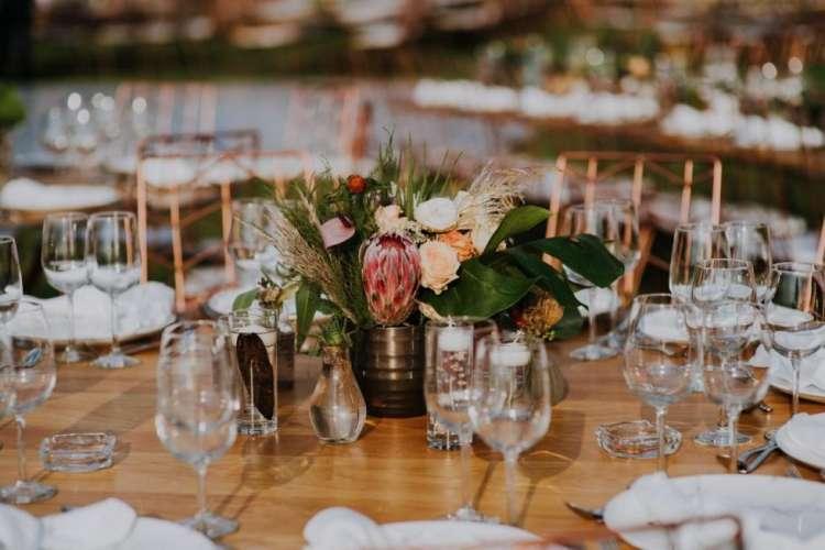 ديكورات حفل زفاف