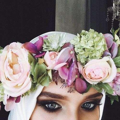 تيجان الأزهار