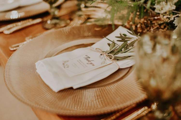 Olive Branch Table Decorations 4