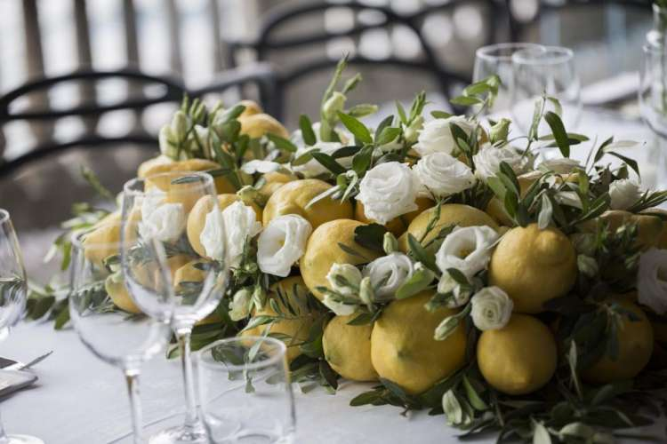 Lake Como Lemon Wedding 1