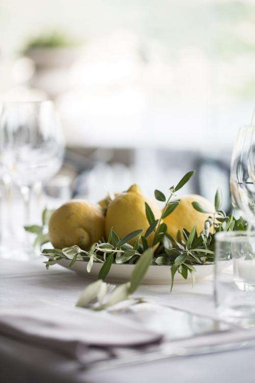 Lake Como Lemon Wedding