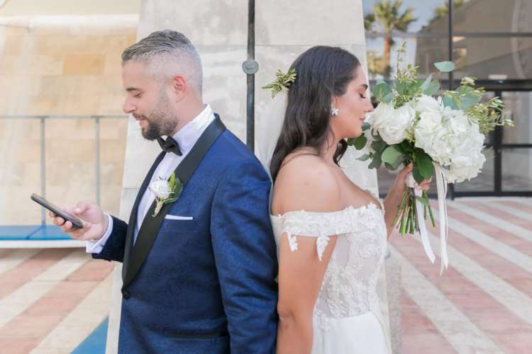 Beisan and Saad Wedding in Cyprus 1