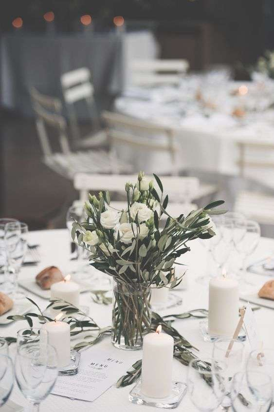 Olive Branch Table Decorations 1