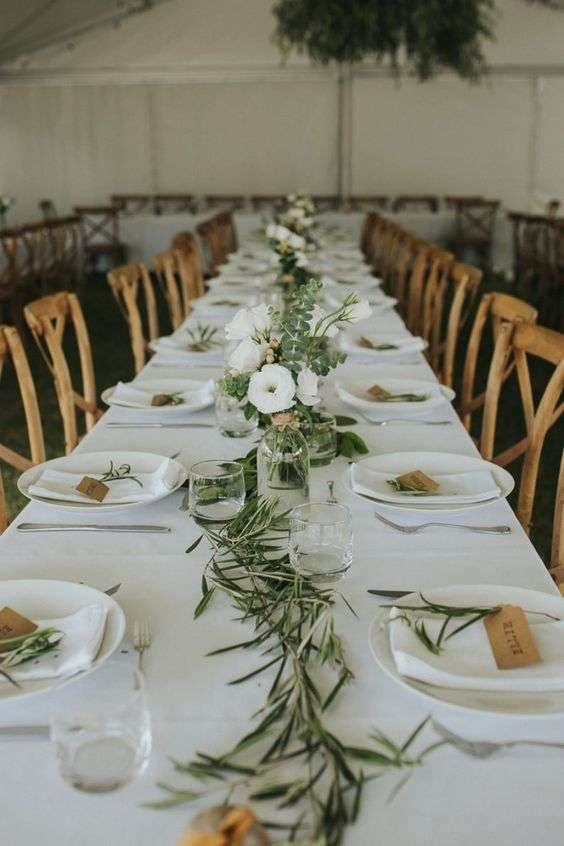 Olive Branch Table Decorations 2