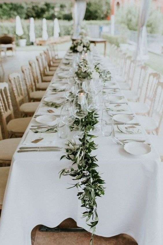 Olive Branch Table Decorations 3