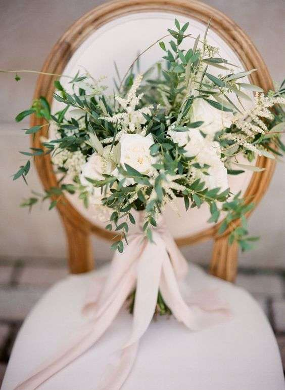 Olive Wedding Bouquet 3