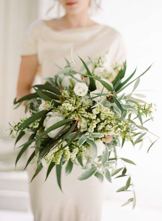 Olive Wedding Bouquet 2