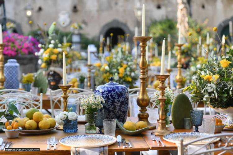 Sicilian Lemon Wedding