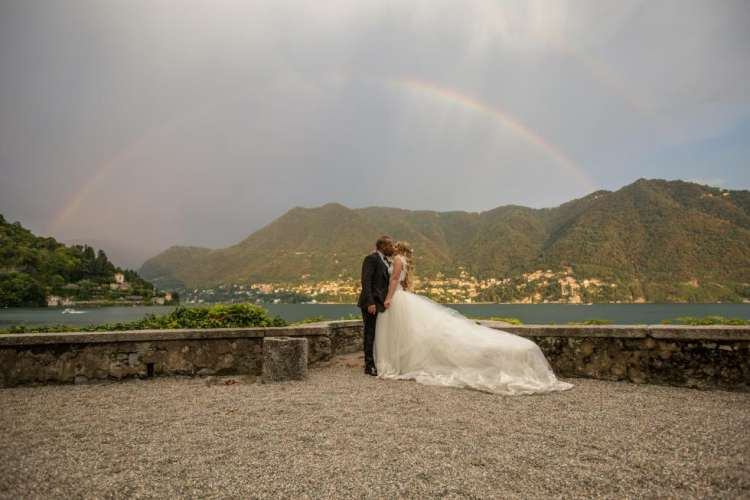 Hazim and Bianca Lake Como Wedding
