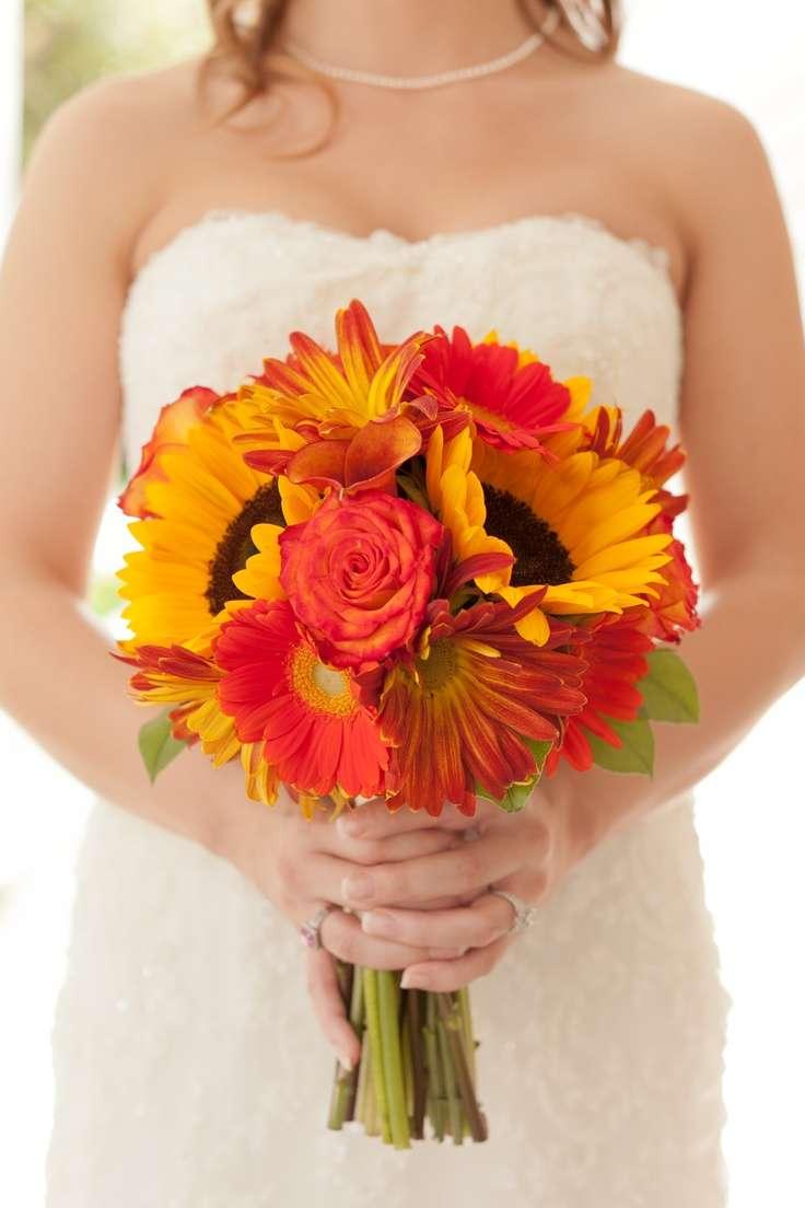 Yellow and Orange Wedding