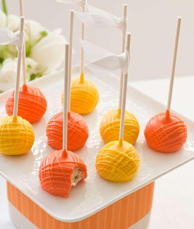 Yellow and Orange Wedding 1