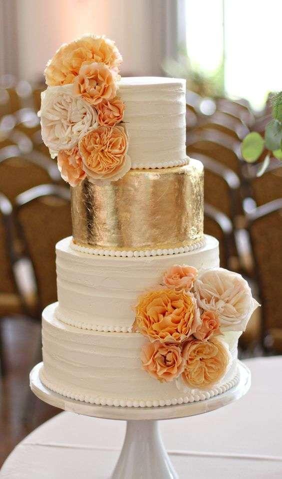 Orange and Ivory Wedding 1
