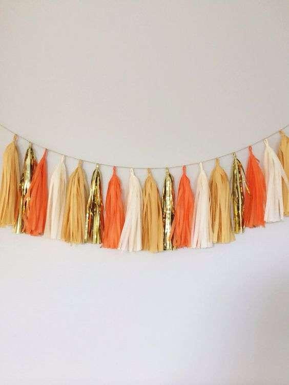 Orange and Ivory Wedding 2