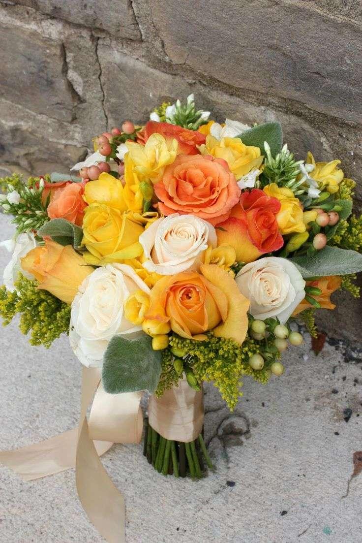 Yellow and Orange Wedding 2