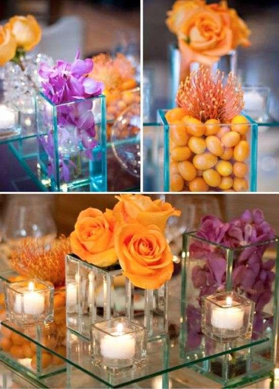 Purple and Orange Wedding 2