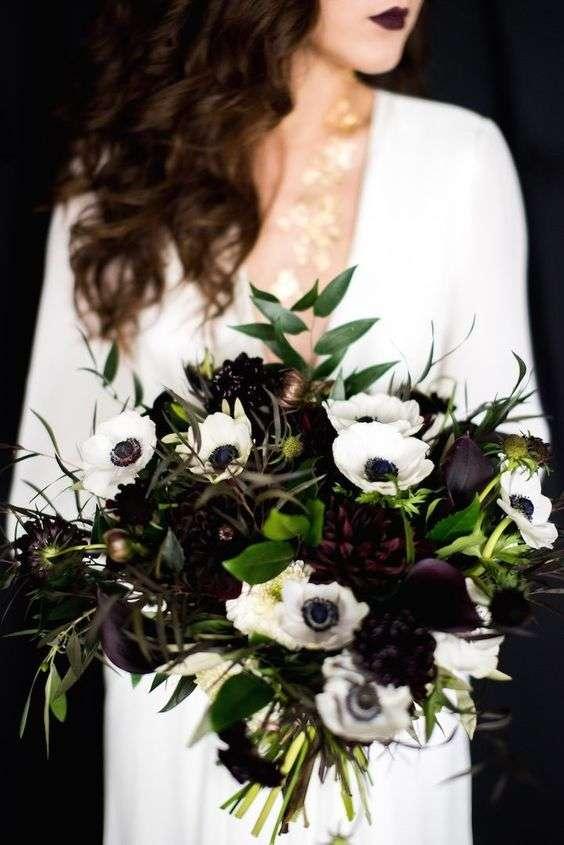 Dark Wedding Colors 1