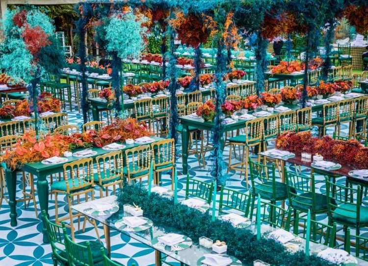 حفل زفاف بثيم جنة عدن