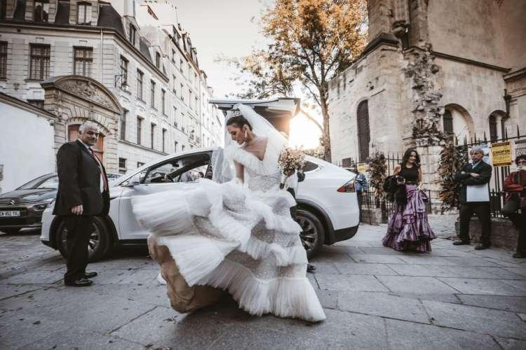Wedding of Andrea Wazan and Anthony Zaatar in Paris