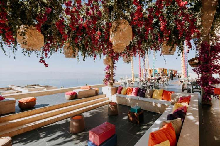 Dead Sea Indian Wedding