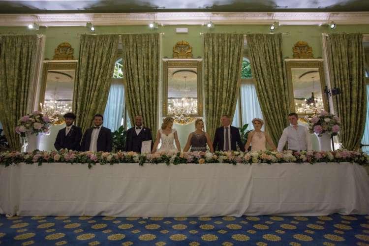 Hazem & Bianc'a Wedding Headtable