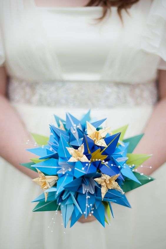 Origami Wedding Bouquet