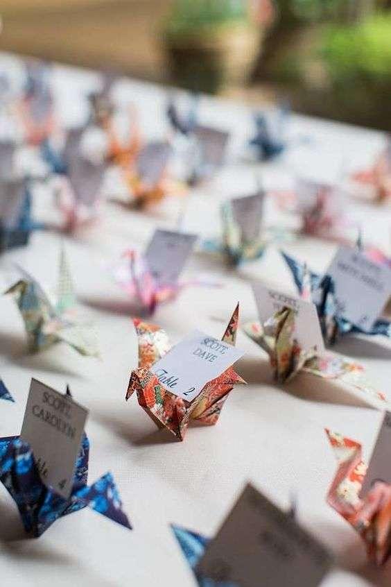 Origami Wedding Invitations 1