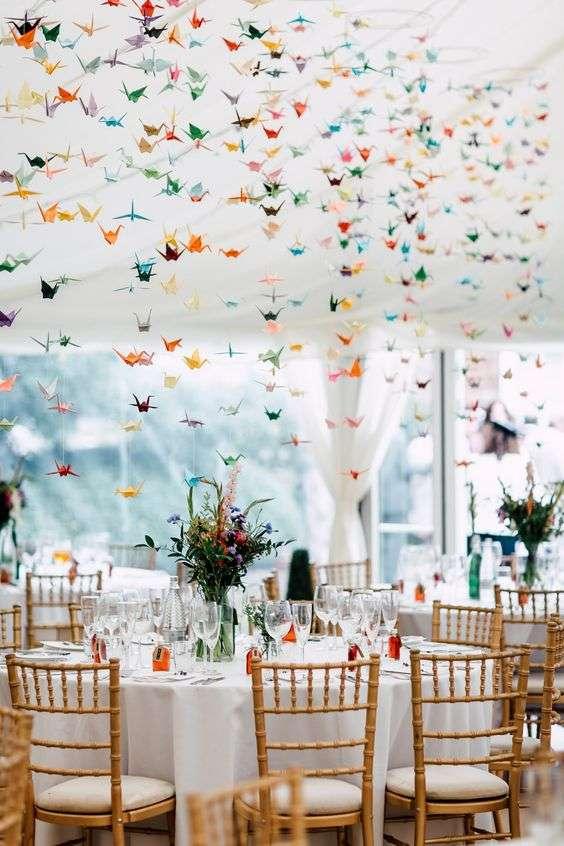 Origami Wedding Decorations 1